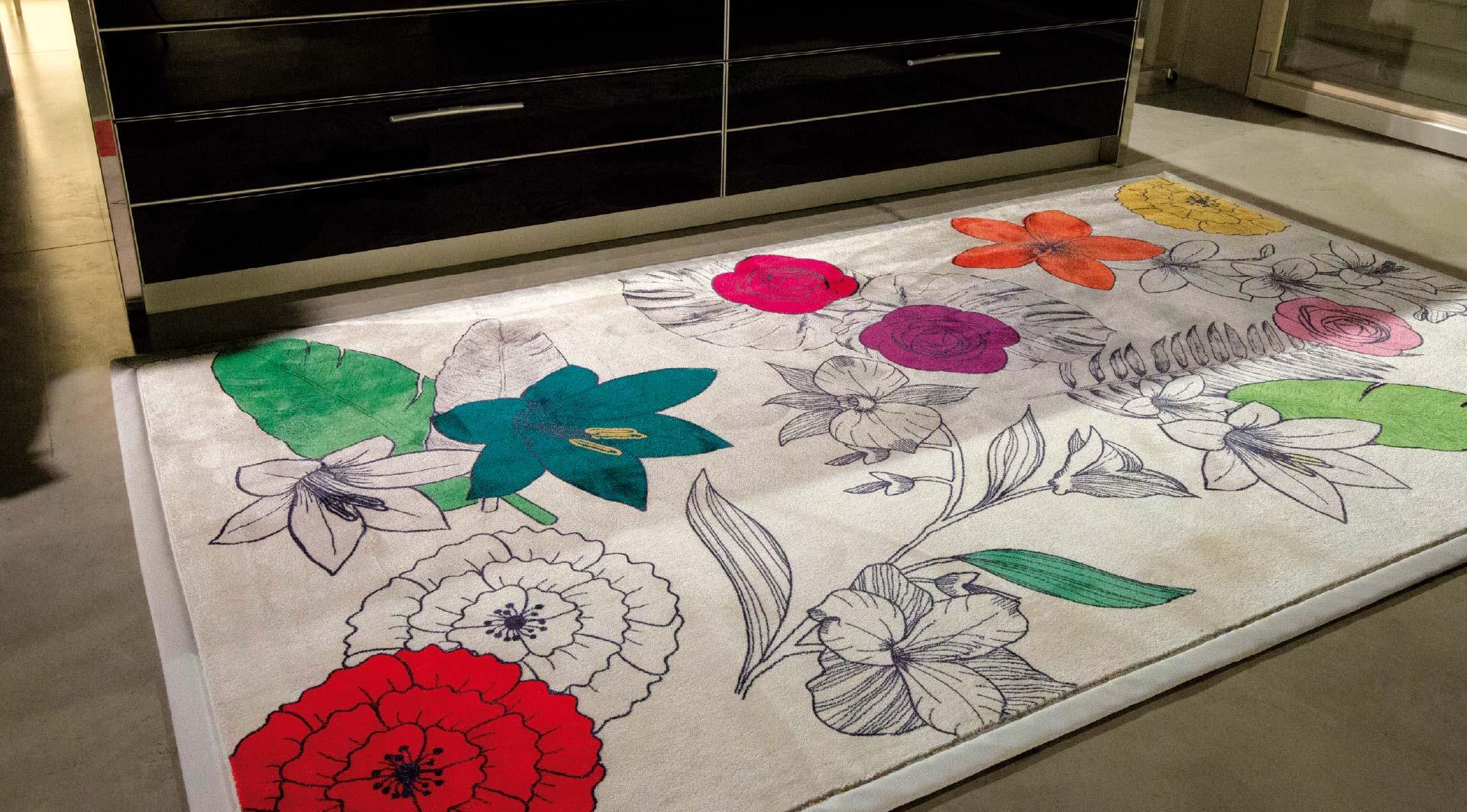 Siba tende tappeto Flower