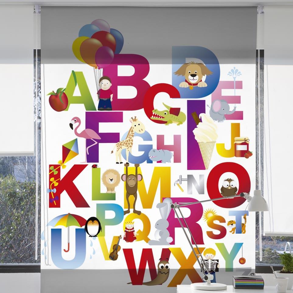 Siba Tende Rullo con stampa digitale per la stanza dei ragazzi